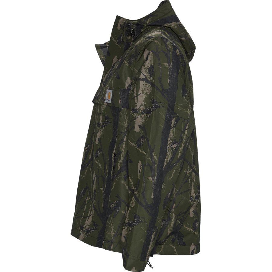 NIMBUS PULLOVER I027639 - Nimbus Pullover Jacket - Jakker - Regular - CAMO GREEN - 3